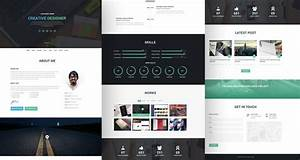 20 best free html resume templates by trendy theme With free resume theme