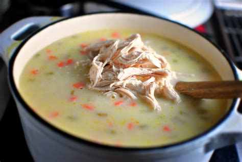how to cook chicken breast for soup simply scratch creamy chicken lemon rice soup simply scratch