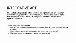 Iepa Lecture 1 Introduction And Integrative Art