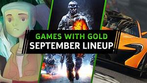 Free Xbox One360 Games With Gold For September 2017