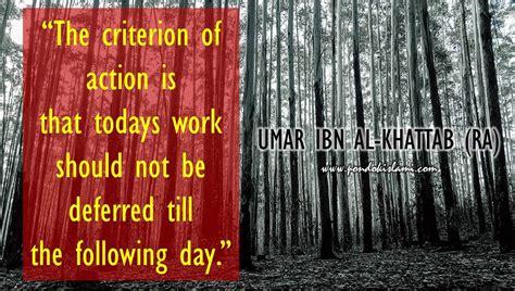 famous umar ibn al khattab quotes  business pondok