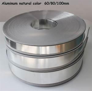 Aluminum plastic led sign letters roll channel letter coil for Channel letter trim cap