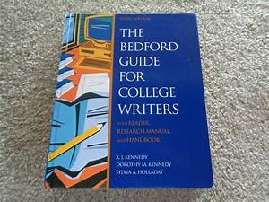 Bedford Guide For College Writers With Reader Research