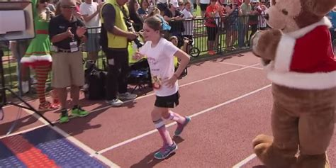 young runner  cerebral palsy  inspire