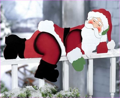 outdoor wooden christmas decorations patterns designcorner