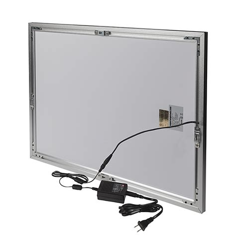 led light box ultra thin led light boxes w snap open frame even glow 174 light fixtures wall mount 15 quot x22
