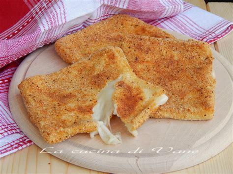 mozzarella in carrozza ricetta mozzarella in carrozza al forno