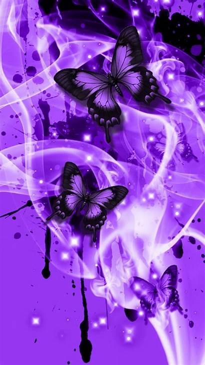 Butterfly Purple Butterflies Iphone Wallpapers Lupus Background