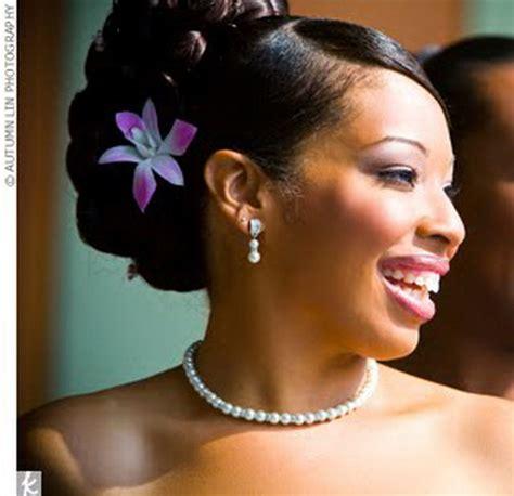 updo black hairstyles for weddings