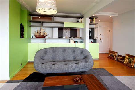 canape ploum décoration appartement canapé bourollec tapis ligne roset