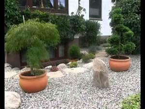 Steingartengestaltung mit bonsai gartenbonsai asiatische for Garten planen mit bonsai anzuchterde