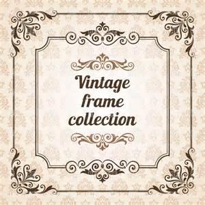 designer vintage vintage frames and design elements vector image 28601 rfclipart