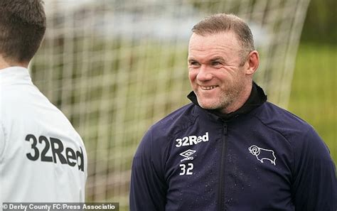 AHEAD OF THE GAME: Derby earmark Wayne Rooney as a future ...
