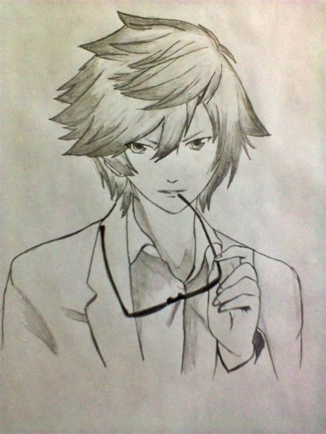 Anime Boy Boy And Cool Image 699704 On Favim Cool Anime To Draw How To Draw Cool Tokyo Ghoul