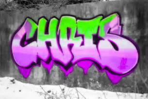 Graffiti Name Chris