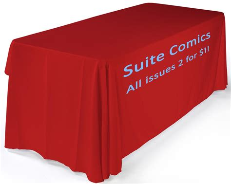 trade show table covers amazon rush promotional table with text cover 6 ft folding
