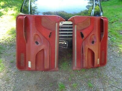 National parts depot has you covered! 92-96 FORD F 150 f150 F-250 BRONCO DOOR PANELS PANEL Red ...