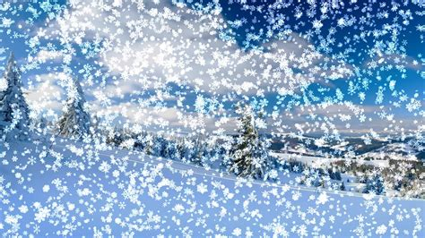 Animated Snow Desktop Wallpaper - animated snow falling wallpaper wallpapersafari