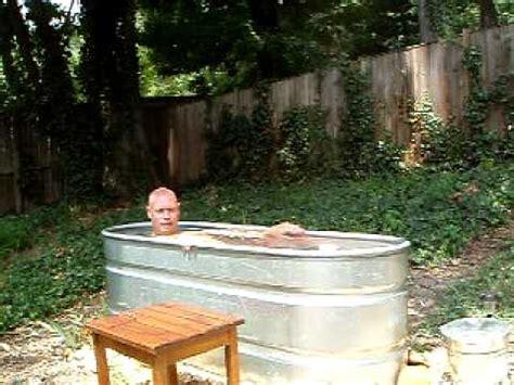 trough bathtub diy ofuro trough