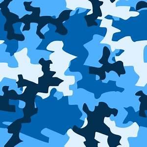 Blue Camouflage Pattern | www.pixshark.com - Images ...