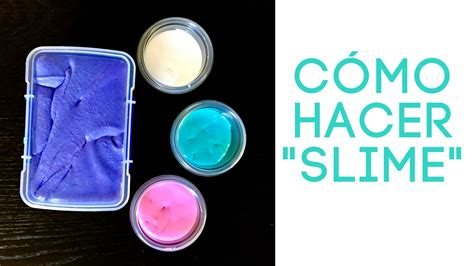 como hacer c 243 mo hacer slime en casa hispana global