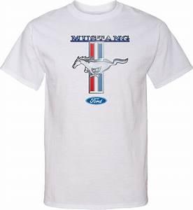 Buy Cool Shirts Ford Mustang T-shirt Stripe Tall Tee   eBay