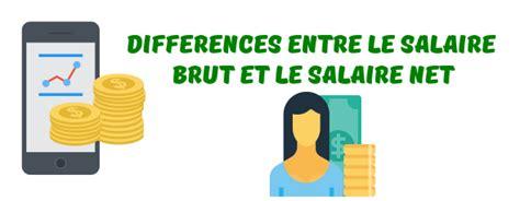 salaire brut net explications exemples et calcul des charges