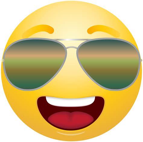 Emoji Clipart Emoticon Emoji With Sunglasses Clipart Info