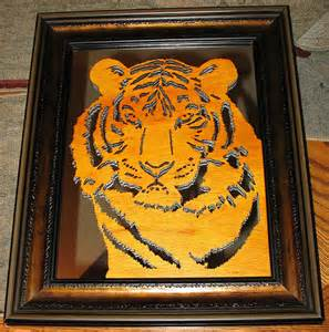 Tiger Scroll Saw Projects