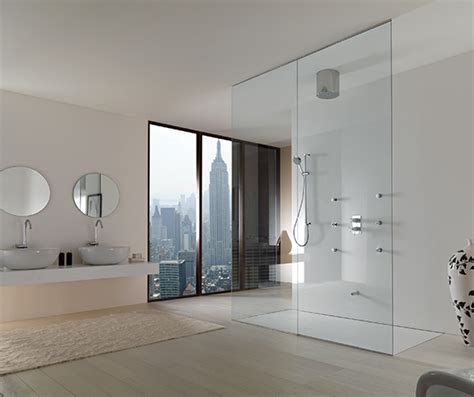 open showers the pros and cons of open and closed showers freshome