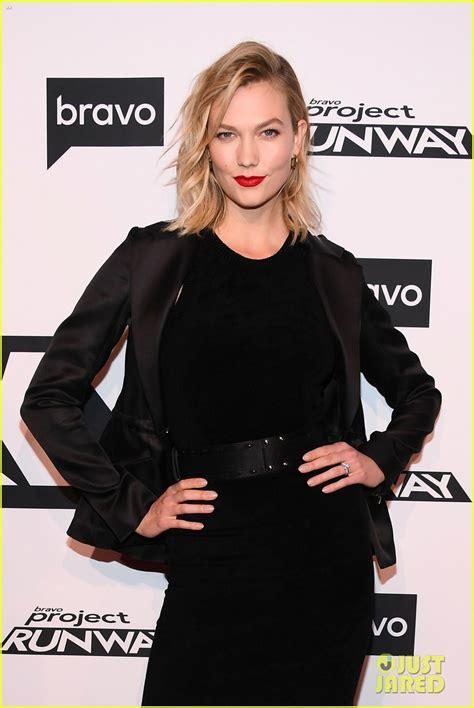 Karlie Kloss Christian Siriano Step Out For Project