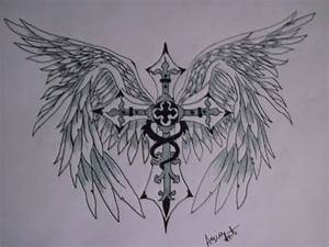 cross with angel wings by AsiaArt87 on DeviantArt