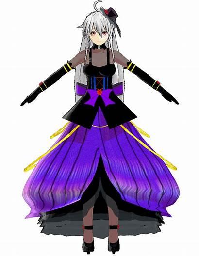 Haku Yowane Mikumikudance Nigo Gothic Purple Wikia
