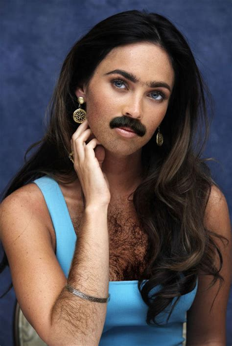 Famous Women Sprout Beards (14 Pics)  Izismilecom
