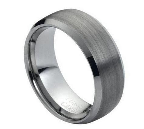 m 007 tungsten wedding band tungsten rings men s