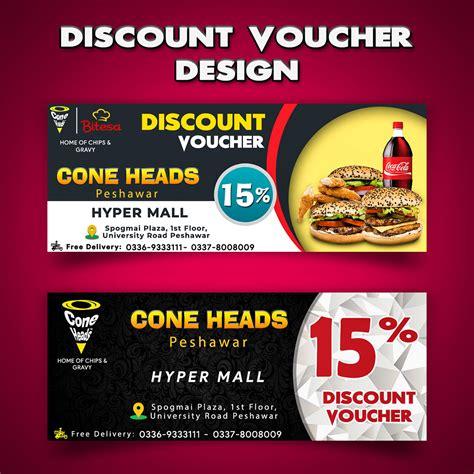Discount Voucher Design on Behance