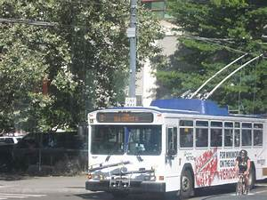 King County Metro 2001 Gillig Phantom Trolley 4145  Verizo