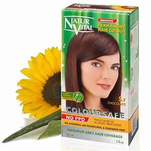 PPD Free Hair Dye Naturvital Coloursafe Chocolate No 57