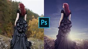 Learn Basic Photo Editing Manipulation - Photoshop CC - YouTube