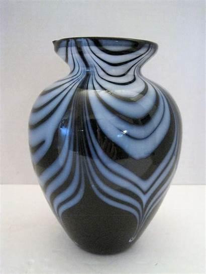 Glass Vase Swirl Tall Bearski Llc