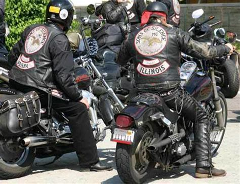 Outlaw Motorcycle Clubs (one Percenter Bike Gangs) And