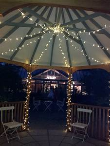 Some Gazebo Lights Ideas ALL ABOUT HOUSE DESIGN
