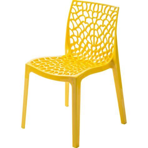 cannage chaise leroy merlin chaise de jardin en résine grafik jaune leroy merlin