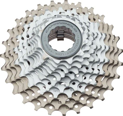 cagnolo record 10 speed cassette cagnolo record cassette 11 speed 11 27t silver gray