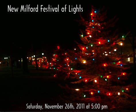 2011 new milford ct festival of lights