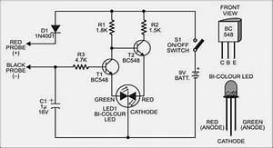 Simple Handy Tester Circuit Diagram