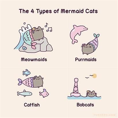 Pusheen Cats Types Mermaid