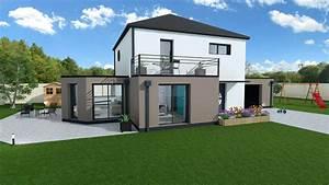 Maison En L Moderne : maison familiale 4 chambres avec garage mtc maisons individuelles ~ Melissatoandfro.com Idées de Décoration