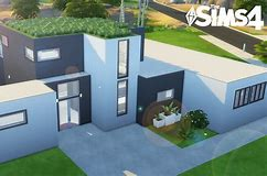 HD wallpapers maison moderne sims 2 6175.ml