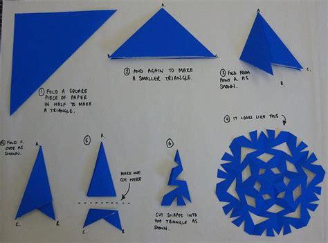 paper snowflake    snowflakes
